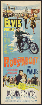 "Roustabout (Paramount, 1964). Insert (14"" X 36""). Elvis Presley"