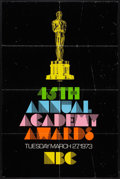 "Movie Posters:Miscellaneous, Academy Awards Poster (AMPAS, 1973). One Sheet (27"" X 41"").Miscellaneous.. ..."