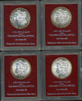 Additional Certified Coins, Four Redfield 1889-S Morgan Dollars.... (Total: 4 coins)