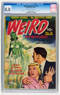 Golden Age (1938-1955):Horror, Weird Adventures #10 (Ziff-Davis, 1951) CGC VF 8.0 Cream tooff-white pages....