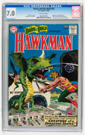 Silver Age (1956-1969):Superhero, The Brave and the Bold #34 Hawkman (DC, 1961) CGC FN/VF 7.0 Off-white pages....