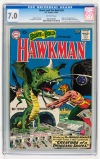 The Brave and the Bold #34 Hawkman (DC, 1961) CGC FN/VF 7.0 Off-white pages