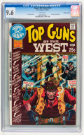 Bronze Age (1970-1979):Western, Super DC Giant #14 Top Guns of the West - Western Penn pedigree (DC, 1970) CGC NM+ 9.6 White pages....
