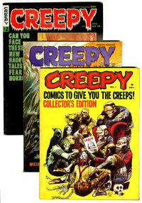 Creepy Group (Warren, 1965-70) Condition: Average FN.... (Total: 26 Comic Books)