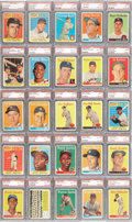 Baseball Cards:Sets, 1958 Topps Baseball Complete Set (494) - #3 on the PSA SetRegistry!...