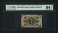 Fractional Currency:Third Issue, Fr. 1254 10¢ Third Issue PMG Choice Uncirculated 64 EPQ....