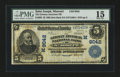 National Bank Notes:Missouri, Saint Joseph, MO - $5 1902 Date Back Fr. 592 The German American NBCh. # (M)9042. ...