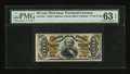 Fractional Currency:Third Issue, Fr. 1341 50¢ Third Issue Spinner Type II PMG Choice Uncirculated 63 EPQ....