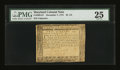 Colonial Notes:Maryland, Maryland December 7, 1775 $2 2/3 PMG Very Fine 25....
