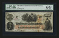Confederate Notes:1862 Issues, T41 $100 1862 PF-12.. ...