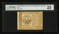 Colonial Notes:Continental Congress Issues, Continental Currency September 26, 1778 $30 PMG Very Fine 25....
