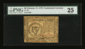 Colonial Notes:Continental Congress Issues, Continental Currency February 17, 1776 $8 PMG Very Fine 25....