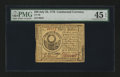 Colonial Notes:Continental Congress Issues, Continental Currency July 22, 1776 $30 PMG Choice Extremely Fine 45EPQ....