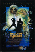 "Movie Posters:Science Fiction, Return of the Jedi (20th Century Fox, R-1997). One Sheet (26.75"" X39.75"") SS Advance Style D. Science Fiction.. ..."