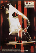 """Movie Posters:Rock and Roll, U2: Rattle and Hum (Paramount, 1988). One Sheet (27"""" X 40""""). Rockand Roll.. ..."""