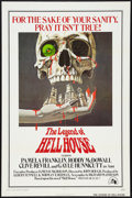 """Movie Posters:Horror, The Legend Of Hell House (20th Century Fox, 1973). One Sheet (27"""" X 41"""") and Lobby Cards (3) (11"""" X 14""""). Horror.. ... (Total: 4 Items)"""