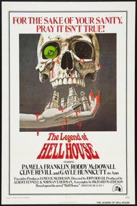 "The Legend Of Hell House (20th Century Fox, 1973). One Sheet (27"" X 41"") and Lobby Cards (3) (11"" X 14&qu..."