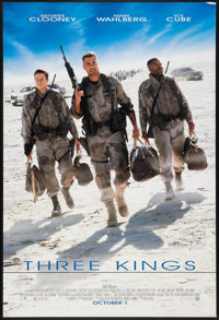 """Three Kings (Warner Brothers, 1999). One Sheet (27"""" X 40"""") DS Advance. Comedy"""
