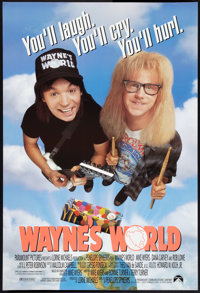 """Wayne's World (Paramount, 1992). One Sheets (2) (27"""" X 40"""") SS Regular and Advance. Comedy. ... (Total: 2 Item..."""