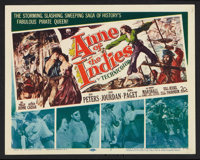 """Anne of the Indies (20th Century Fox, 1951). Lobby Card Set of 8 (11"""" X 14"""") and Pressbook (Multiple Pages, 11..."""