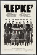 """Movie Posters:Drama, Lepke (Warner Brothers, 1974). One Sheet (27"""" X 41""""), Lobby Cards (7) (11"""" X 14""""), and Pressbook (Multiple Pages, 11"""" X 14"""")... (Total: 9 Items)"""