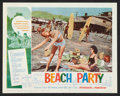 "Movie Posters:Comedy, Beach Party (American International, 1963). Lobby Card Set of 8(11"" X 14""). Comedy.. ... (Total: 8 Items)"