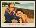 "Movie Posters:Adventure, Mutiny on the Bounty (MGM, 1963). Lobby Card Set of 8 (11"" X 14"")and Pressbook (Multiple Pages, 14"" X 19""). Adventure.. ... (Total:9 Items)"