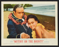 """Mutiny on the Bounty (MGM, 1963). Lobby Card Set of 8 (11"""" X 14"""") and Pressbook (Multiple Pages, 14"""" X 19..."""