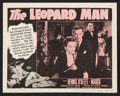 "Movie Posters:Thriller, The Leopard Man (RKO, R-1952). Lobby Card Set of 8 (11"" X 14"").Thriller.. ... (Total: 8 Items)"