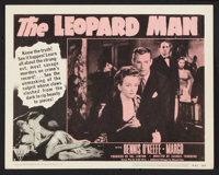 "The Leopard Man (RKO, R-1952). Lobby Card Set of 8 (11"" X 14""). Thriller. ... (Total: 8 Items)"