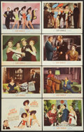 """Movie Posters:Musical, Les Girls (MGM, 1957). Lobby Card Set of 8 (11"""" X 14""""). Musical.. ... (Total: 8 Items)"""