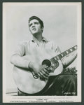 "Movie Posters:Elvis Presley, Elvis Presley in ""Loving You"" (Paramount, 1957). Photo (8"" X 10""). Elvis Presley.. ..."