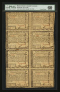Colonial Notes:Rhode Island, Rhode Island July 2, 1780 Half Sheet of Eight PMG Uncirculated 60....