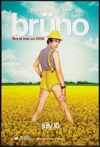 """Bruno Lot (Universal, 2009). One Sheets (2) (27"""" X 40"""") DS Regular and Advance. Comedy. ... (Total: 2 Items)"""