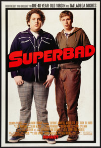 "Superbad Lot (Columbia, 2007). One Sheets (2) (27"" X 40"") DS and SS Advance. Comedy. ... (Total: 2 Items)"