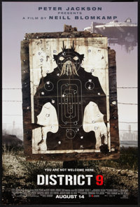 "District 9 Lot (Tri-Star, 2009). One Sheets (3) (27"" X 40"") DS and SS Advance Regular. Science Fiction. ... (T..."