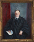 Political:Presidential Relics, William Howard Taft: Oil Portrait by Emily Burling Waite....