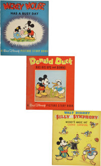 Disney and other Story Books and Related Memorabilia (Whitman, 1930s-50s).... (Total: 11 Items)