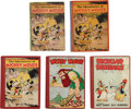 Memorabilia:Disney, Mickey Mouse and Disney Story Book Group (David McKay Company, 1931-34).... (Total: 5 Items)