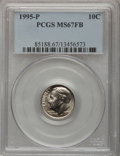 Roosevelt Dimes: , 1995-P 10C MS67 Full Bands PCGS. PCGS Population (11/0). NGCCensus: (10/1). Mintage: 1,125,500,032. (#85188)...