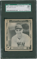 Baseball Cards:Singles (1940-1949), 1948 Swell Sport Thrills Strikeout Record! #19 SGC 80 EX/NM 6....