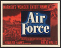 """Movie Posters:War, Air Force Lot (Warner Brothers, 1943). Half Sheet (22"""" X 28"""") andLobby Card (11"""" X 14""""). War.. ... (Total: 2 Items)"""