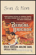 "Movie Posters:Adventure, Bengal Brigade Lot (Universal, 1954). Window Cards (2) (14"" X 22"").Adventure.. ... (Total: 2 Items)"