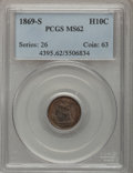 Seated Half Dimes: , 1869-S H10C MS62 PCGS. PCGS Population (3/21). NGC Census: (5/38).Mintage: 230,000. Numismedia Wsl. Price for problem free...