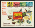 """Movie Posters:Fantasy, The 3 Worlds of Gulliver (Columbia, 1960). Title Lobby Card (11"""" X14""""). Fantasy.. ..."""