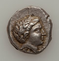 Ancients:Greek, Ancients: Paeonian Kingdom. Patraos. 335-315 B.C. AR tetradrachm...