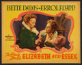 "Movie Posters:Drama, The Private Lives of Elizabeth and Essex (Warner Brothers, 1939).Lobby Card (11"" X 14""). Drama.. ..."
