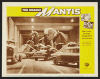 """The Deadly Mantis (Universal International, R-1964). Lobby Card Set of 8 (11"""" X 14""""). Science Fiction. ... (To..."""