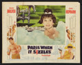 "Movie Posters:Romance, Paris When it Sizzles (Paramount, 1964). Lobby Card Set of 8 (11"" X14""). Romance.. ... (Total: 8 Items)"