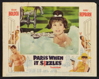 "Paris When it Sizzles (Paramount, 1964). Lobby Card Set of 8 (11"" X 14""). Romance. ... (Total: 8 Items)"